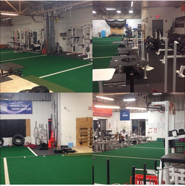weight room area