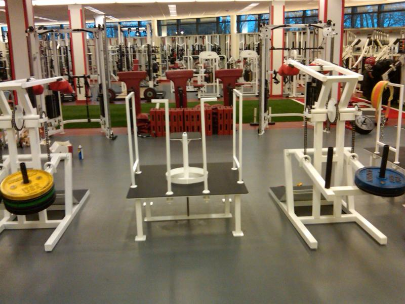 Inside Rutgers Weightroom